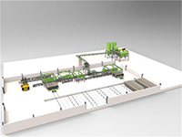Full Automatic Lightweight Wall Panel Production Line